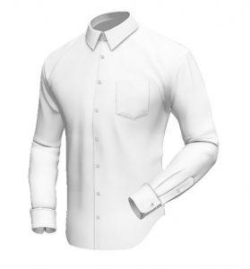 1 Breast Pockets (No Flap)