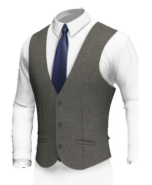 Single Breasted 3 Buttons