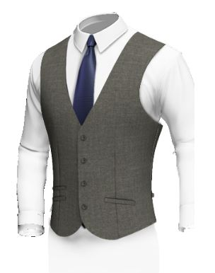 Single Breasted 4 Buttons