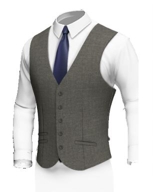 Single Breasted 5 Buttons