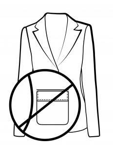 No pockets
