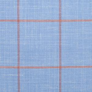 LIGHT BLUE CHECK SUIT/LIGHT BLUE CHECKERED SUIT/LIGHT BLUE CHECKERED FABRIC/LIGHT BLUE BUFFALO CHECK FABRIC