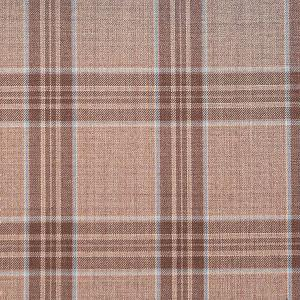 Brown Check Pattern fabric