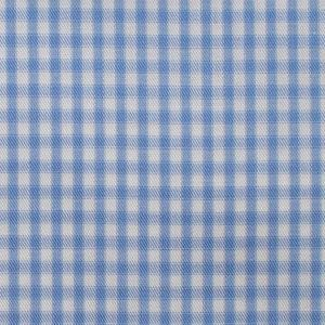 Light blue check fabric by jmiltailored, Check fabric, light blue check fabric, Cotton fabric online