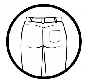 One Patched Pocket