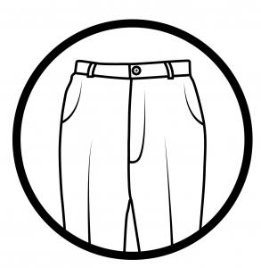 Rounded pockets