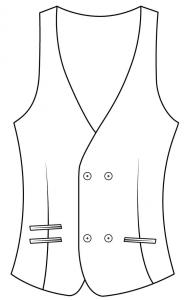 Double Breasted 4 Buttons