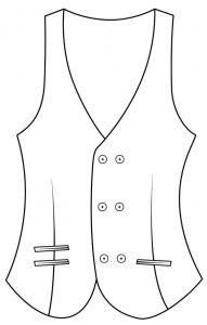 Double Breasted 6 Buttons