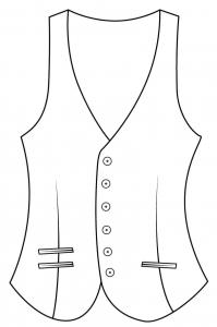 Single Breasted 6 Buttons
