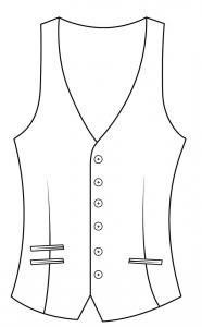 Single Breasted (Diagonal)