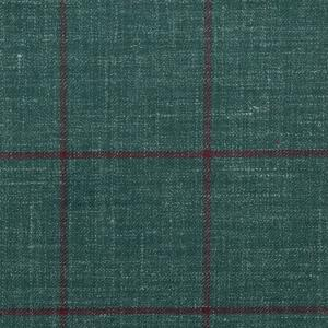 GREEN PLAID FABRIC/ /GREEN PLAID SUIT JACKET/GREEN PLAID WOOL FABRIC/DARK GREEN PLAID FABRIC