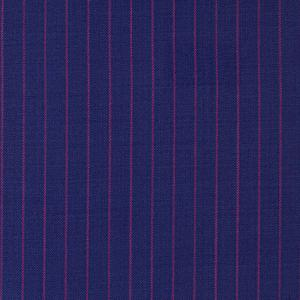 BLUE AND HOT PINK STRIPED FABRIC