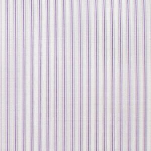 PURPLE AND PINK STRIPED FABRIC