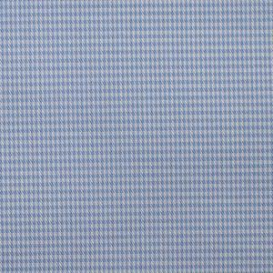 Light Blue Houndstooth shirt fabric, Cotton fabric online