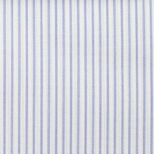 BLUE STRIPED AND HERRINGBONE FABRIC
