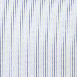 Blue striped fabric by jmiltailored, Tops, Blue striped fabric